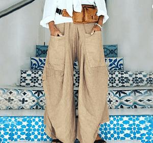 Casual Wide Leg Bohemian Bloomers Bohemian Pants » Original Earthwear