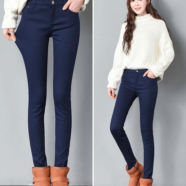 Winter Ladies Skinny Pencil Pants Autumn & Winter Boho Styles » Original Earthwear