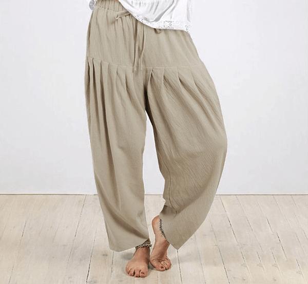 Slouchy Wide Bohemian Style Pants Bohemian Pants » Original Earthwear