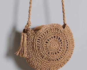 Bohemian Straw Crossbody Bag Bohemian Accessories » Original Earthwear