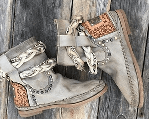 Leather Bohemian Ankle Boots Autumn & Winter Boho Styles » Original Earthwear