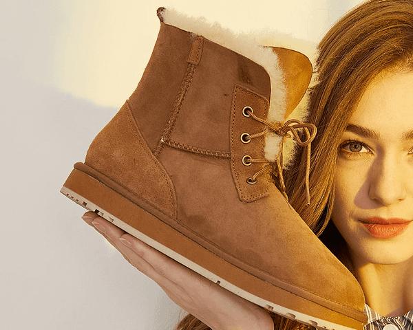 Natural Wool Fur Lined Boots Autumn & Winter Boho Styles » Original Earthwear