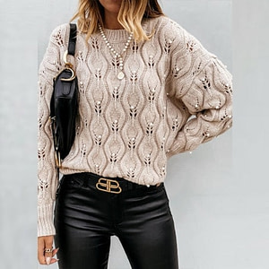 Autumn Elegant V-Neck Boho Sweater Autumn & Winter Boho Styles » Original Earthwear