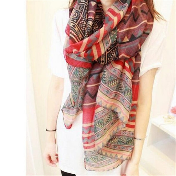 Trendy Bohemian Scarf Autumn & Winter Boho Styles » Original Earthwear