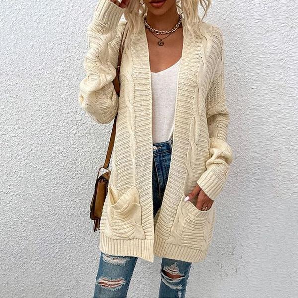Boho Braided knitted Cardigan Autumn & Winter Boho Styles » Original Earthwear