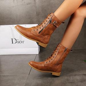 Ladies Zipper Mid-Calf Boots Autumn & Winter Boho Styles » Original Earthwear