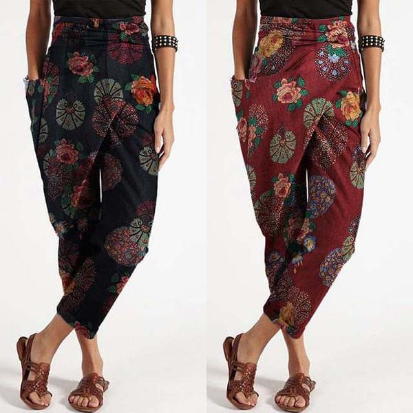 Bohemian Fashion Harem Pants Bohemian Pants » Original Earthwear