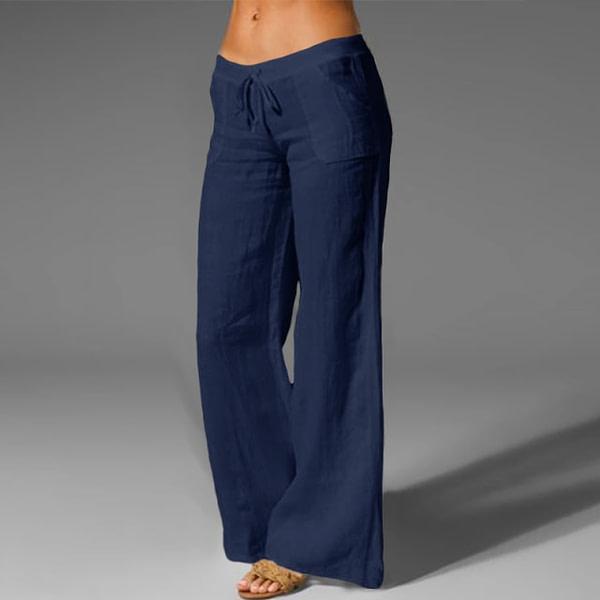 Bohemian Style Wide Leg Pants Bohemian Pants » Original Earthwear